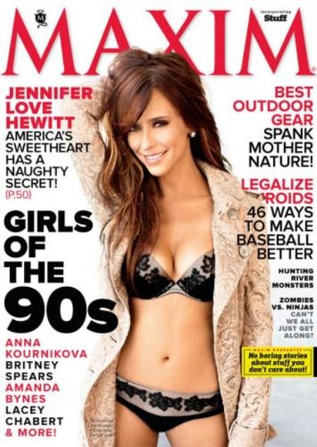Jennifer Love Hewitt Loves her Boobs