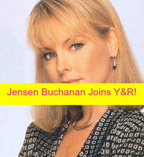 The Young and the Restless Spoilers: Jensen Buchanan Cast as Elise Moxley on Y&R - Another World Star Starts Nov 13