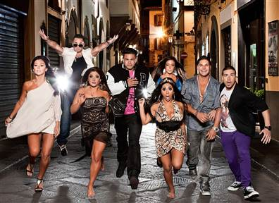 Secrets From The Italian 'Jersey Shore' Set -- Behind The Scenes