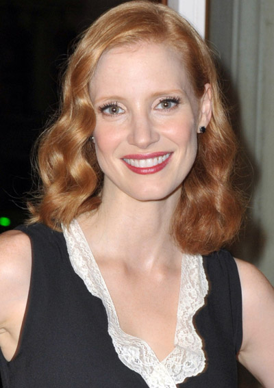 Jessica Chastain Receives A Standing Ovation For Her Oscar Nomination