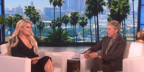 Jessica Simpson Stumbles Over Her Words In Strange Interview On The Ellen DeGeneres Show