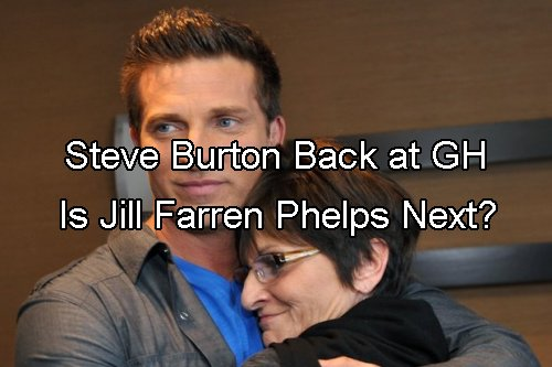 General Hospital Spoilers: Jill Farren Phelps Coming to GH - Steve Burton's Return the First of Many Big Changes
