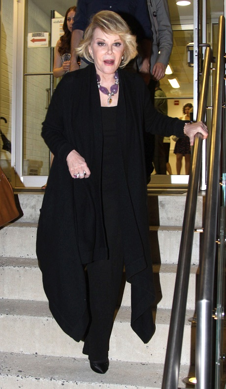 Joan Rivers Dead At Age 81 - Legendary Comedienne Passes Away In NYC, Confirms Daughter Melissa Rivers
