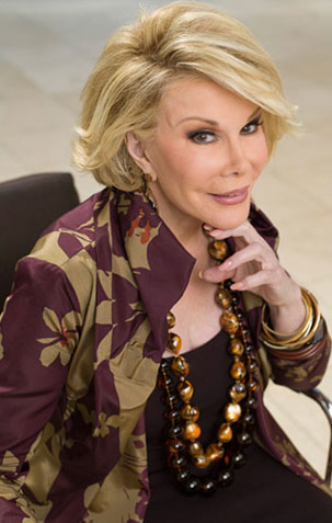 Joan Rivers' Claims Her Sarah Palin Rant Behind Her Cancellion On FOX & Friends