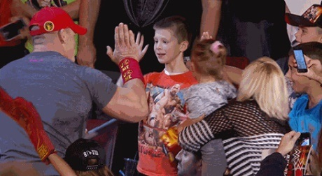 John Cena Makes Young Child's Wish Come True: WWE Star Encourages Nick Santillo To Fight On!