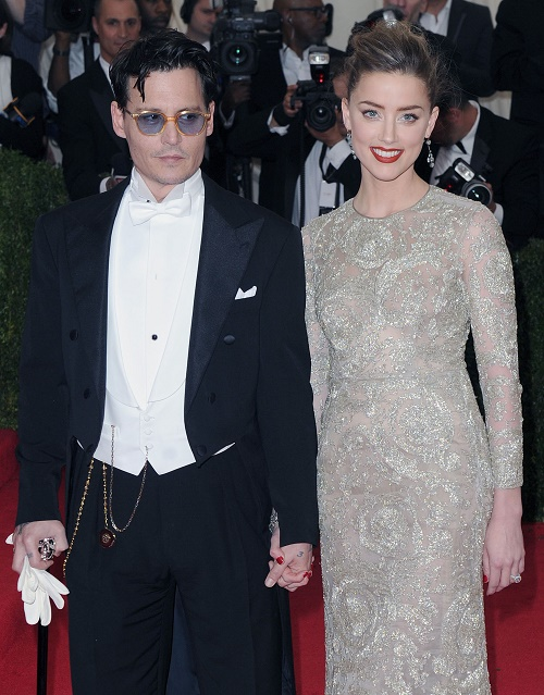 """Johnny Depp, Amber Heard Married: Johnny Guilted Amber To Say """"I Do"""" With His Dying Mother Betty Sue"""