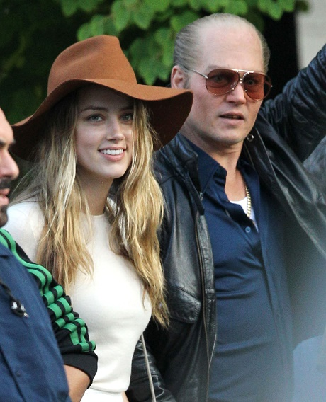 Johnny Depp And Amber Heard Marrying, She Refuses To Sign Prenup - Johnny's Ex Vanessa Paradis Distraught!