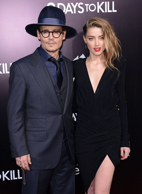 Johnny Depp Drains Bank Account To Pay Off Ex Vanessa Paradis And Spoil Amber Heard - A-List Actor Is Broke!