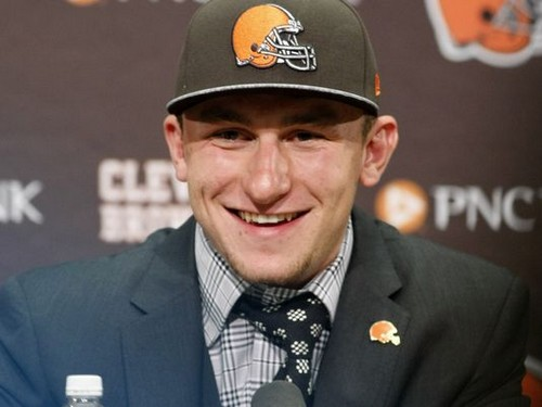 Johnny Manziel, The Cleveland Browns Quarterback Checks Into Rehab