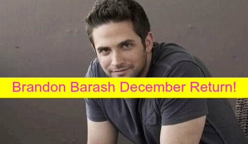 General Hospital Spoilers: Brandon Barash Returns to GH - Johnny Zacchara Comes Gunning For Trouble!