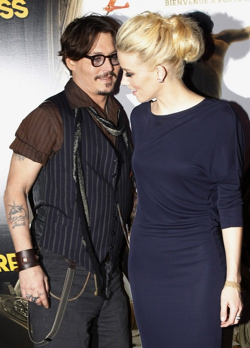 Amber Heard And Johnny Depp Engaged Officially - Engagement Ring Seals The Deal