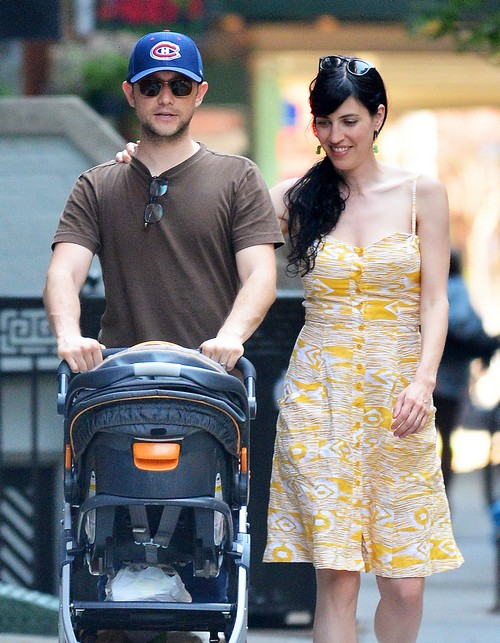 Joseph Gordon-Levitt Family Time With Wife Tasha McCauley and Son: Update - First Pics of Dad Holding Son! (PHOTOS)