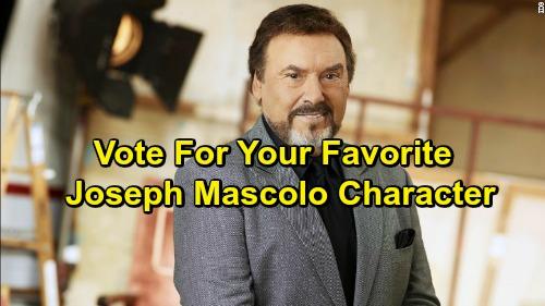 Vote for Joseph Mascolo's Best Soap Character: DOOL's Stefano DiMera, B&B's Massimo Marone or GH's Nicholas Van Buren