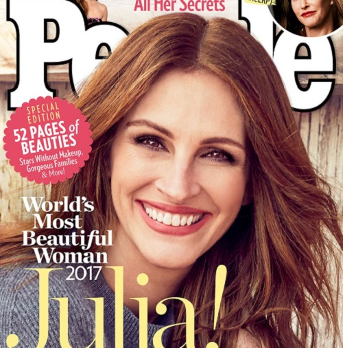 Julia Roberts Lands 'Most Beautiful Woman' People Magazine Cover For 2017