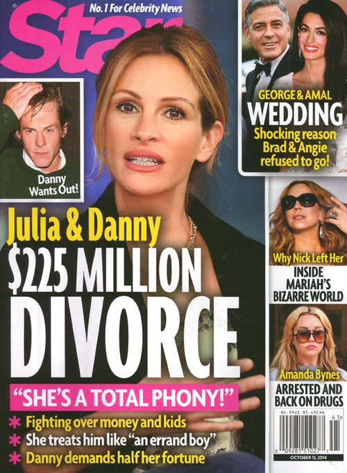 Julia Roberts Divorce: $225 Million Battle with Husband Danny Moder Over Children (PHOTO)