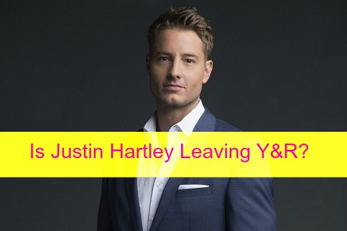 The Young and the Restless Spoilers: Is Justin Hartley Leaving Y&R, Moving to Primetime 'MacGyver' - Will Adam Newman Die?