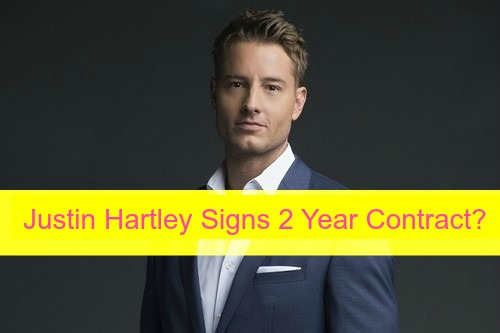 The Young and the Restless Spoilers: Justin Hartley Signs 2 Year Y&R Contract - Says No MacGyver?