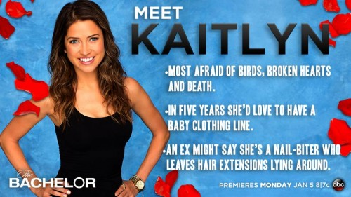 The Bachelor 2015 Spoilers: Chris Soules' Top 3 Finalist Kaitlyn Bristowe is ABC's 2015 Bachelorette?