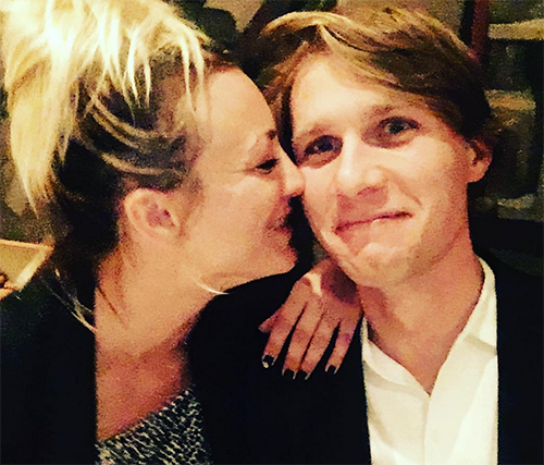 Kaley Cuoco NOT Quitting The Big Bang Theory: Is Johnny Galecki Uncomfortable With New Romance?