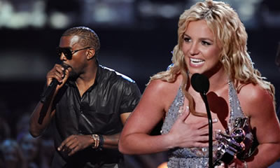 Kanye West Hijacks Britney Spears On Twitter