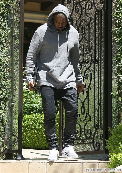 Kanye West Threatens To Leave Kim Kardashian and Baby Girl If Kris Jenner Calls In The Media