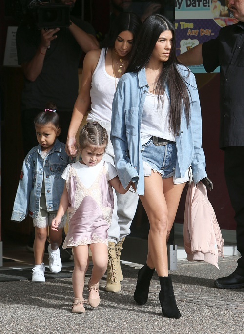 Kim Kardashian Bans Other Kids From Art Class - Special Treatment For North And Penelope