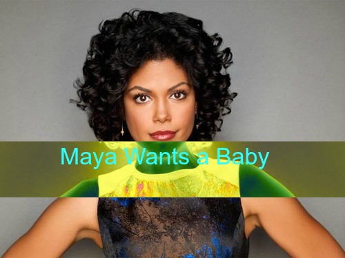 The Bold and the Beautiful (B&B) Spoilers: Maya Wants a Baby, Rick Agrees - Liam Puzzled by Steffy's Move