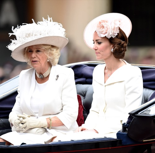 Kate Middleton Stuck With Camilla Parker-Bowles In Shared Carriage At Trooping Of The Colour: Looks Furious