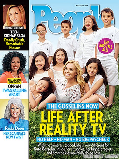 """Kate Gosselin Intends To Continue To Pimp Her Children For A Living On New Reality TV Show: Cries She Has No """"Steady Income"""" (PHOTO)"""