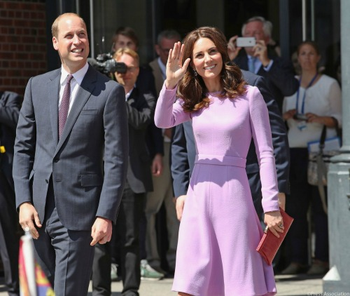 Kate Middleton Returns To Work While Prince William Takes Solo Trip To Africa