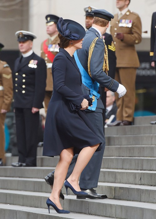 Kate Middleton Joins Queen Elizabeth and Senior Royals to Honor Fallen Soldiers Lost in Afghanistan Campaign