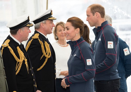 Kate Middleton Looking Very Sporty with Prince William at America's Cup Royal Outing (PHOTOS)