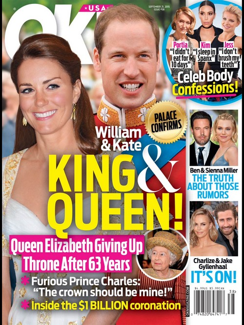 Kate Middleton Queen and Prince William King as Queen Elizabeth Retires: Prince Charles Outraged?