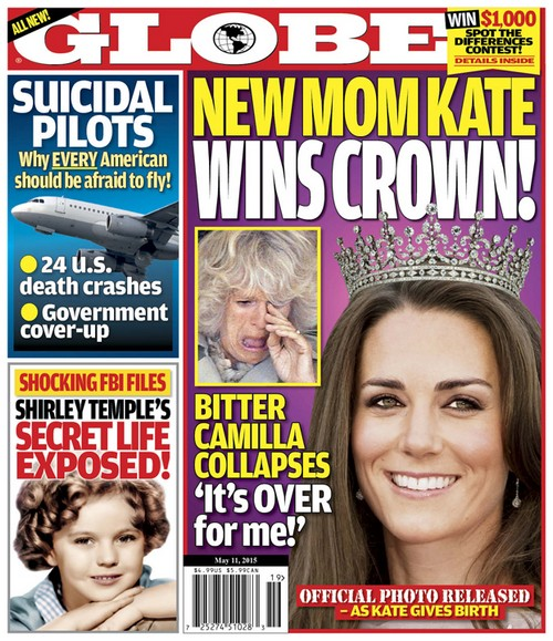 Kate Middleton Named Next Queen of England Following Birth and Naming of Royal Baby Girl, Camilla Parker-Bowles Raging?