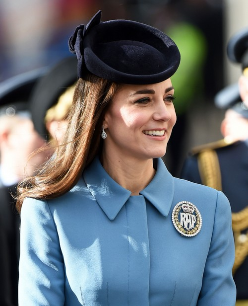 Kate Middleton Reveals Prince George Can't Wait To Fly a Plane at Royal Air Force Cadets 75th Anniversary Event