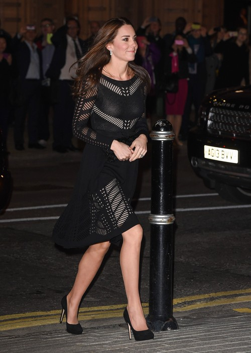 Kate Middleton and Angelina Jolie Worry Queen Elizabeth: Princess Kate Headed Down Same Anorexic Path as Angelina? (PHOTOS)