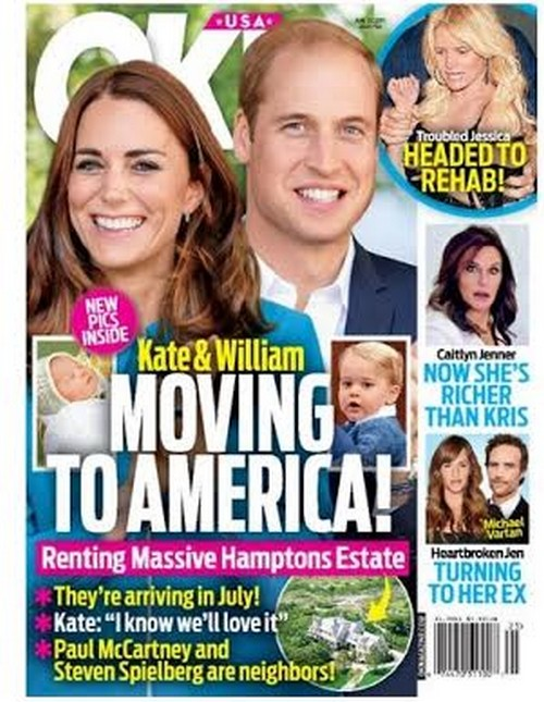 Kate Middleton and Prince William Renting Hamptons Estate For Summer – Queen Elizabeth Forbids Royal Family Move To America?