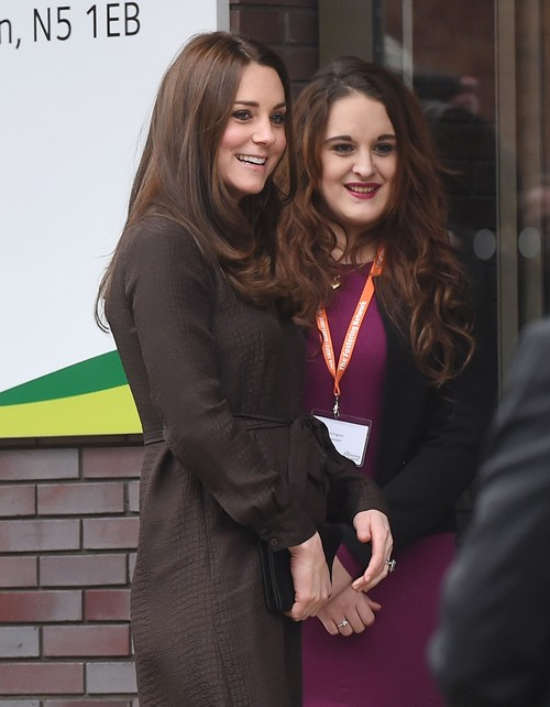 Kate Middleton's Fostering Network Baby Bump Photos Are Queen Elizabeth's Push For Positive PR After Prince Andrew Scandal?