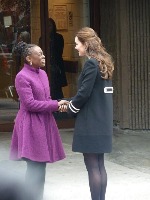 Kate Middleton Shows Baby Bump First Day In New York City - Prince William Meets President Obama in Washington (PHOTOS)