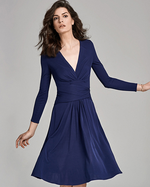 Kate Middleton Engagement Dress: Designer Daniella Helayel Brings Back Affordable Version of Duchess's Blue Wrap Dress