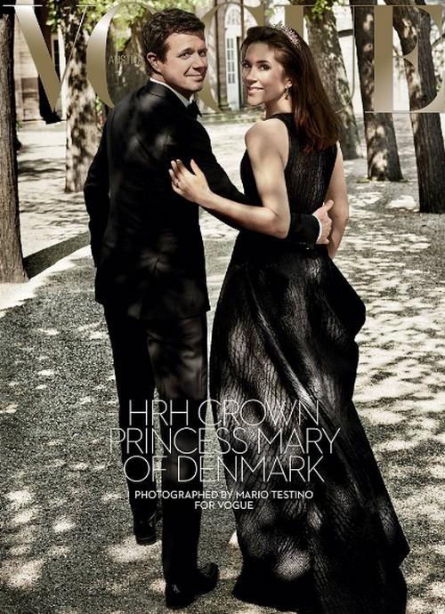 Kate Middleton Furious: Denmark's Princess Mary Australian Vogue Feature More Glamorous?