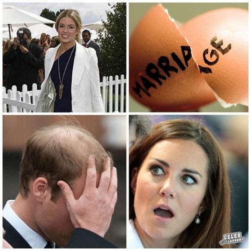 Kate Middleton, Chelsy Davy,Cressida Bonas,