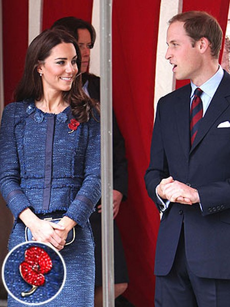 Patriotic Kate Middleton Is The Most Beautiful Woman In The World (Photo)
