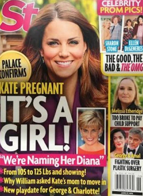 Kate Middleton Pregnant With Baby Girl: Prince William And Duchess Expand Family With Third Royal Child? (PHOTO)