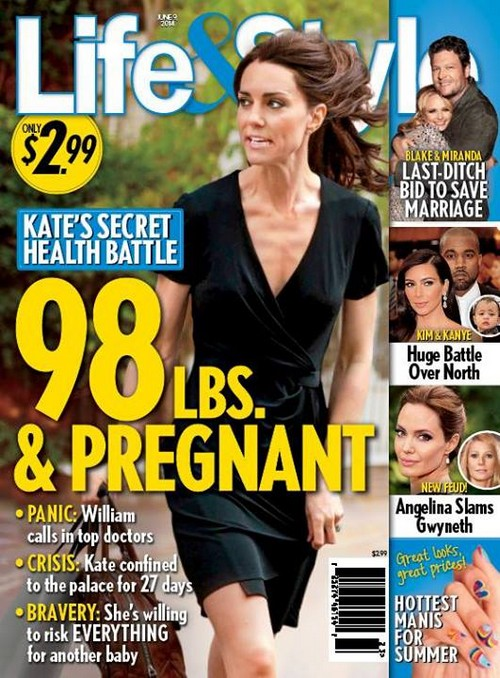 Kate Middleton Pregnant: Sick With Baby Number Two Only 98 Pounds and Baby Bump Reported (PHOTO)