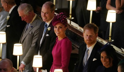 Prince William And Kate Middleton Show Different Side Of Marriage At Princess Eugenie's Wedding