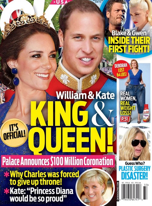 Kate Middleton and Prince William Next Queen and King: Prince Charles Gives Up Throne?