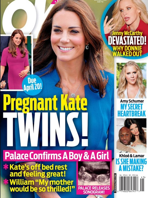Kate Middleton Pregnant With Twins: Princess Diana Would be 'Thrilled' - Baby Boy and Girl Due April 20?