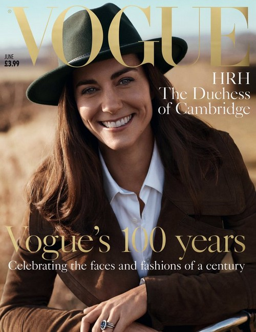 Kate Middleton Covers British Vogue – Sets Bad Example for Young Women?