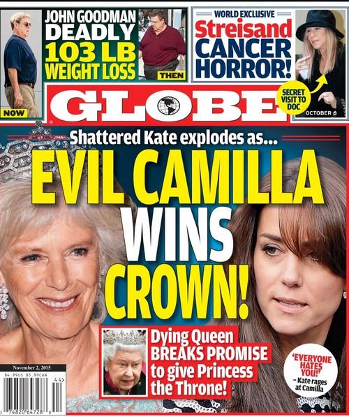 Kate Middleton Battles Camilla Parker-Bowles For The Crown: Queen Elizabeth Breaks Promise Over Succession?